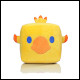Final Fantasy Plush - Chocobo Cube Pillow 25cm