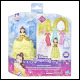 Disney Princess - Small Doll Belle Fashion Collection (4 Count)