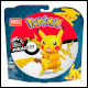 Mega Construx Pokemon - Pikachu (5 Count)