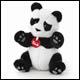 Trudi - Small Plush Panda (2 Count)