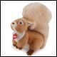 Trudi - Medium Plush Squirrel