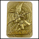 Yu-Gi-Oh! - Limited Edition 24K Gold Plated Collectible Dark Magician
