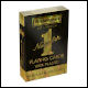 Waddingtons No 1 Playing Cards - Black and Gold Deck