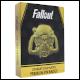 Fallout 24K - Gold Plated XL Premium Pin Badge