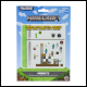 Minecraft - Build a Level Magnets (12 Count)