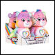 Care Bears - 9 Inch Bean Plush - Togetherness Bear (4 Count)