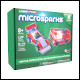 Laser Pegs Microsparks - Vehicle 2 Pack - Red Formula Car/Ladder Truck (6 Count)