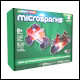 Laser Pegs Microsparks - Vehicle 2 Pack - Mini Rod/Red Motorcycle (6 Count)