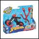 Spiderman - Bend And Flex Flex Rider Spider Man (4 Count)