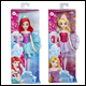 Disney Princess - Water Ballet Doll Assortment (4 Count)