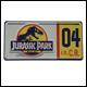 Jurassic Park - Replica Numberplate