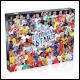 World Football Stars 2021 Jigsaw Puzzles - 1000pcs